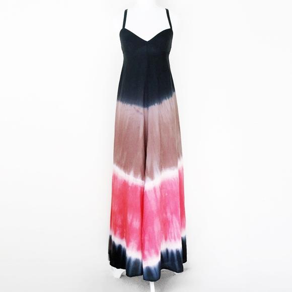 01a9dcba64e22 Free People Dresses   Dip Dye Ombre Tie Dye Maxi Boho Dress   Poshmark